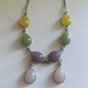925 Silver Gemstone Necklace